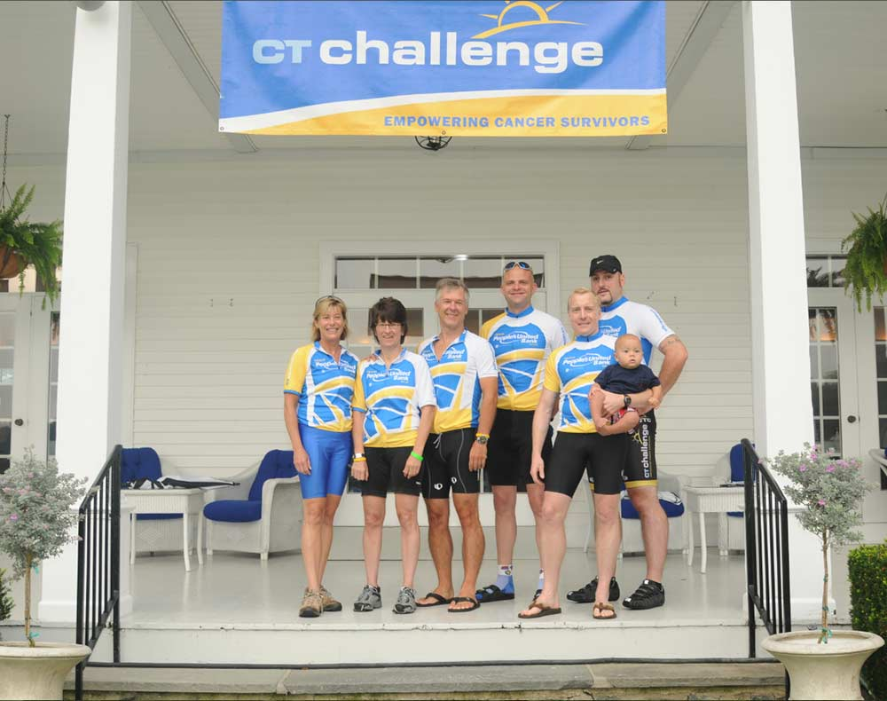 united bank bike peoples ct challenge team